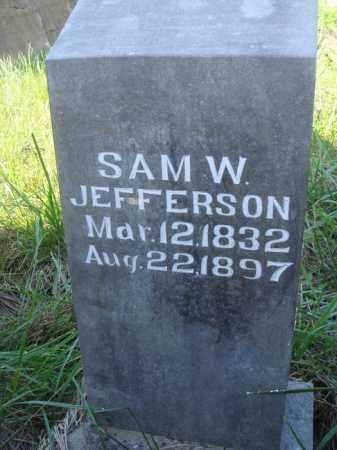 JEFFERSON, SAM W. - Boone County, Arkansas | SAM W. JEFFERSON - Arkansas Gravestone Photos