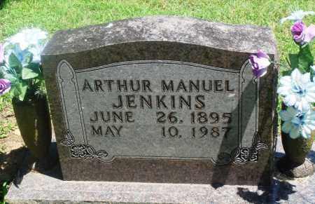 JENKINS, ARTHUR MANUEL - Boone County, Arkansas   ARTHUR MANUEL JENKINS - Arkansas Gravestone Photos