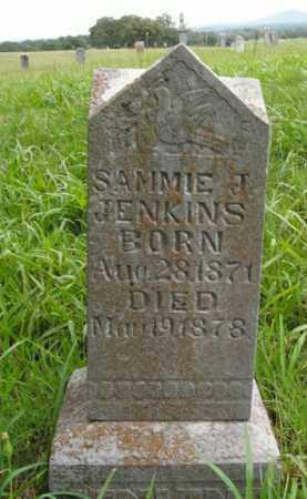JENKINS, SAMMIE J. - Boone County, Arkansas   SAMMIE J. JENKINS - Arkansas Gravestone Photos