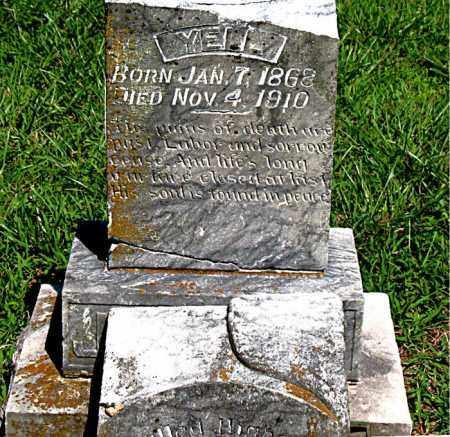 JENKINS, YELL - Boone County, Arkansas | YELL JENKINS - Arkansas Gravestone Photos