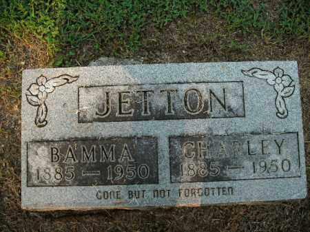 JETTON, CHARLEY - Boone County, Arkansas | CHARLEY JETTON - Arkansas Gravestone Photos