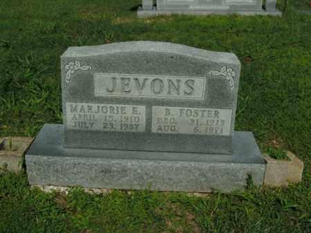 JEVONS, MARJORIE E. - Boone County, Arkansas | MARJORIE E. JEVONS - Arkansas Gravestone Photos