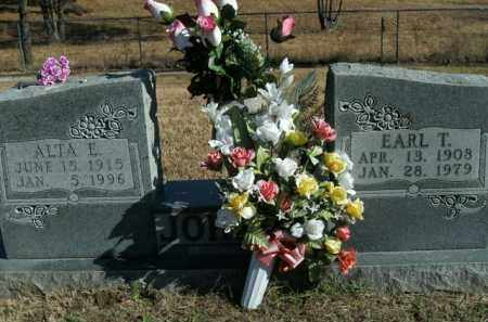 JOHNSON, EARL THOMAS - Boone County, Arkansas | EARL THOMAS JOHNSON - Arkansas Gravestone Photos