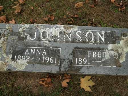 JOHNSON, FRED - Boone County, Arkansas | FRED JOHNSON - Arkansas Gravestone Photos