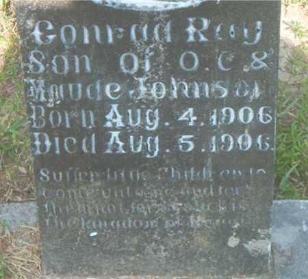 JOHNSON, CONRAD RAY - Boone County, Arkansas   CONRAD RAY JOHNSON - Arkansas Gravestone Photos