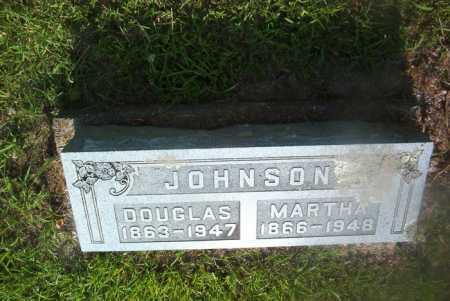 JOHNSON, MARTHA - Boone County, Arkansas   MARTHA JOHNSON - Arkansas Gravestone Photos