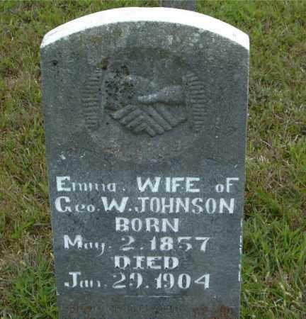 JOHNSON, EMMA - Boone County, Arkansas | EMMA JOHNSON - Arkansas Gravestone Photos