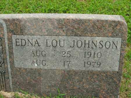 JOHNSON, EDNA LOU - Boone County, Arkansas   EDNA LOU JOHNSON - Arkansas Gravestone Photos
