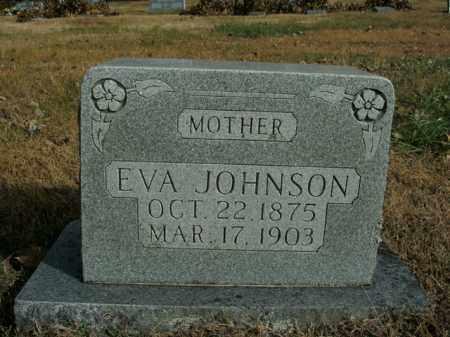 JOHNSON, EVA - Boone County, Arkansas | EVA JOHNSON - Arkansas Gravestone Photos