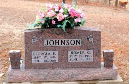 JOHNSON, HOMER  GUY - Boone County, Arkansas   HOMER  GUY JOHNSON - Arkansas Gravestone Photos