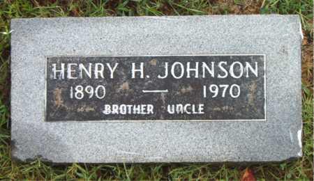 JOHNSON, HENRY H - Boone County, Arkansas | HENRY H JOHNSON - Arkansas Gravestone Photos