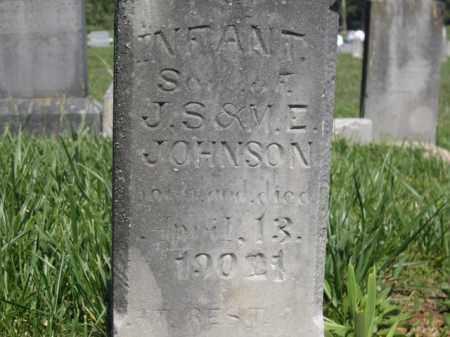 JOHNSON, INFANT SON - Boone County, Arkansas   INFANT SON JOHNSON - Arkansas Gravestone Photos