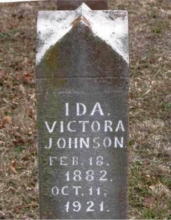 JOHNSON, IDA  VICTORIA - Boone County, Arkansas | IDA  VICTORIA JOHNSON - Arkansas Gravestone Photos