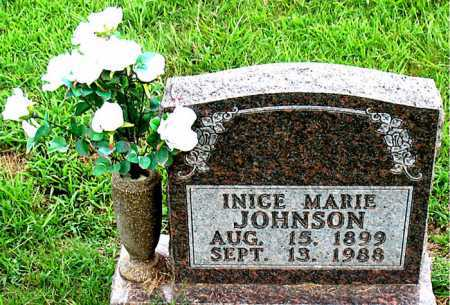 BROWN JOHNSON, INICE MARIE - Boone County, Arkansas   INICE MARIE BROWN JOHNSON - Arkansas Gravestone Photos