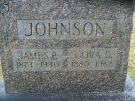 JOHNSON, JAMES PASKELL - Boone County, Arkansas | JAMES PASKELL JOHNSON - Arkansas Gravestone Photos