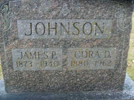 JOHNSON, CORA D. - Boone County, Arkansas | CORA D. JOHNSON - Arkansas Gravestone Photos