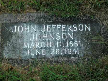 JOHNSON, JOHN JEFFERSON (DOCTOR) - Boone County, Arkansas | JOHN JEFFERSON (DOCTOR) JOHNSON - Arkansas Gravestone Photos