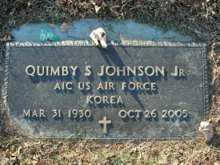 JOHNSON, JR  (VETERAN KOR), QUIMBY S - Boone County, Arkansas   QUIMBY S JOHNSON, JR  (VETERAN KOR) - Arkansas Gravestone Photos