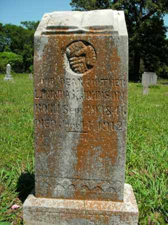 JOHNSON, LUCINDA K. - Boone County, Arkansas | LUCINDA K. JOHNSON - Arkansas Gravestone Photos
