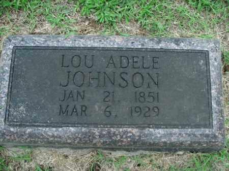 JOHNSON, LOU ADELE - Boone County, Arkansas | LOU ADELE JOHNSON - Arkansas Gravestone Photos