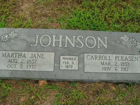 JOHNSON, CARROLL PLEASENT - Boone County, Arkansas | CARROLL PLEASENT JOHNSON - Arkansas Gravestone Photos