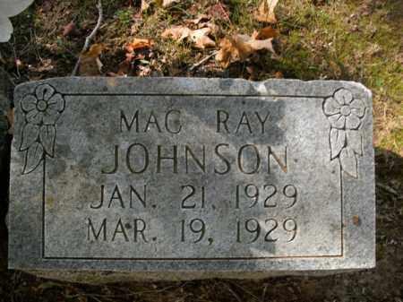 JOHNSON, MAC RAY - Boone County, Arkansas | MAC RAY JOHNSON - Arkansas Gravestone Photos