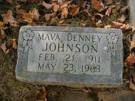 JOHNSON, MAVA - Boone County, Arkansas | MAVA JOHNSON - Arkansas Gravestone Photos