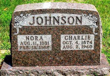 JOHNSON, CHARLIE - Boone County, Arkansas | CHARLIE JOHNSON - Arkansas Gravestone Photos