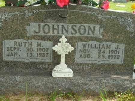 JOHNSON, WILLIAM J. - Boone County, Arkansas | WILLIAM J. JOHNSON - Arkansas Gravestone Photos