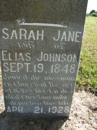 JOHNSON, SARAH JANE - Boone County, Arkansas | SARAH JANE JOHNSON - Arkansas Gravestone Photos