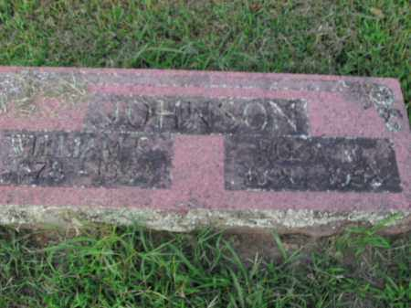 JOHNSON, WILLIAM E. - Boone County, Arkansas | WILLIAM E. JOHNSON - Arkansas Gravestone Photos