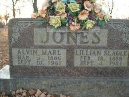 JONES, ALVIN MARL - Boone County, Arkansas | ALVIN MARL JONES - Arkansas Gravestone Photos