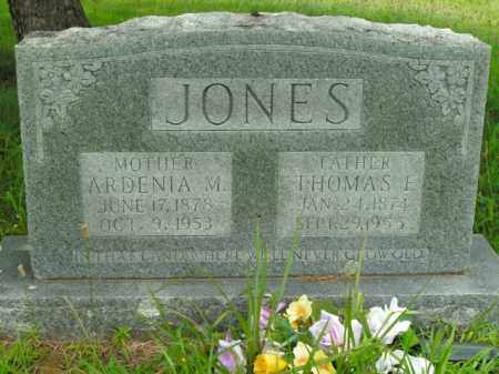 JONES, ARDENIA M. - Boone County, Arkansas | ARDENIA M. JONES - Arkansas Gravestone Photos