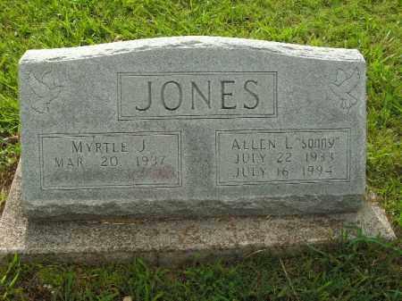 """JONES, ALLEN L. """"SONNY"""" - Boone County, Arkansas   ALLEN L. """"SONNY"""" JONES - Arkansas Gravestone Photos"""