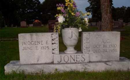 JONES, A.C. - Boone County, Arkansas   A.C. JONES - Arkansas Gravestone Photos