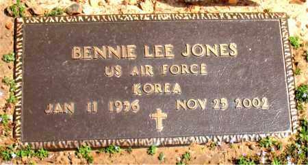 JONES  (VETERAN KOR), BENNIE LEE - Boone County, Arkansas   BENNIE LEE JONES  (VETERAN KOR) - Arkansas Gravestone Photos