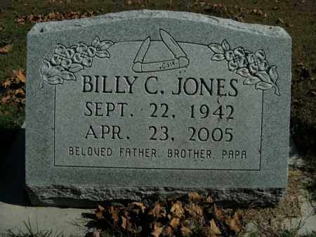 JONES, BILLY CARROLL - Boone County, Arkansas | BILLY CARROLL JONES - Arkansas Gravestone Photos