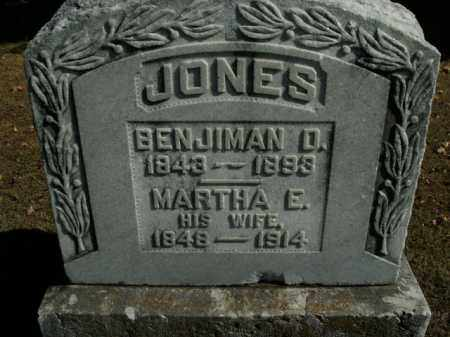 JONES, BENJIMAN D. - Boone County, Arkansas | BENJIMAN D. JONES - Arkansas Gravestone Photos