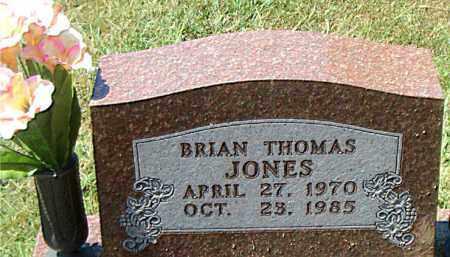 JONES, BRIAN  THOMAS - Boone County, Arkansas   BRIAN  THOMAS JONES - Arkansas Gravestone Photos