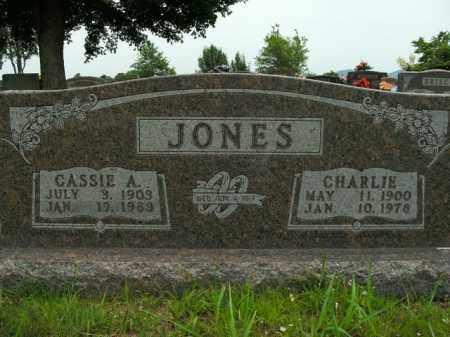 JONES, CASSIE A. - Boone County, Arkansas   CASSIE A. JONES - Arkansas Gravestone Photos