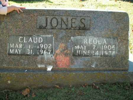 JONES, CLAUD - Boone County, Arkansas | CLAUD JONES - Arkansas Gravestone Photos