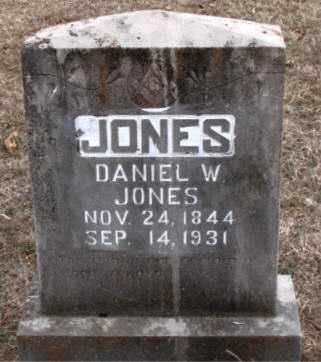 JONES, DANIEL  W. - Boone County, Arkansas | DANIEL  W. JONES - Arkansas Gravestone Photos