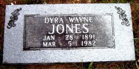JONES, DYRA  WAYNE - Boone County, Arkansas | DYRA  WAYNE JONES - Arkansas Gravestone Photos