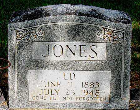 JONES, ED - Boone County, Arkansas   ED JONES - Arkansas Gravestone Photos