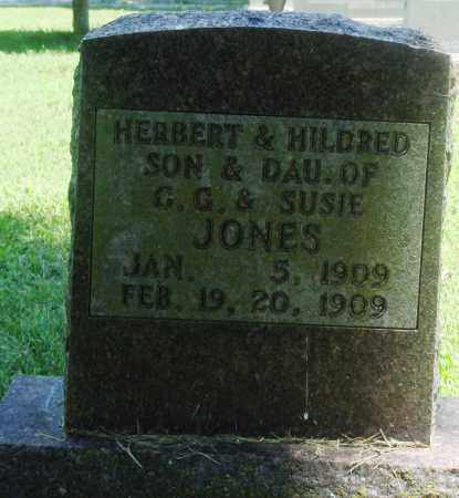 JONES, HILDRED - Boone County, Arkansas | HILDRED JONES - Arkansas Gravestone Photos