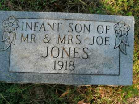 JONES, INFANT SON - Boone County, Arkansas   INFANT SON JONES - Arkansas Gravestone Photos