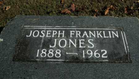 JONES, JOSEPH FRANKLIN - Boone County, Arkansas | JOSEPH FRANKLIN JONES - Arkansas Gravestone Photos