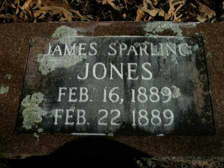 JONES, JAMES SPARLING - Boone County, Arkansas | JAMES SPARLING JONES - Arkansas Gravestone Photos