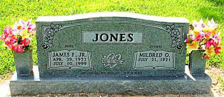 JONES JR, JAMES F. - Boone County, Arkansas   JAMES F. JONES JR - Arkansas Gravestone Photos