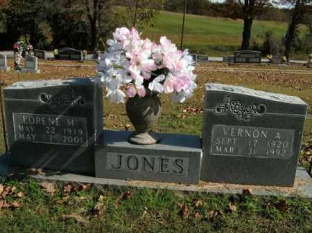 JONES, VERNON A. - Boone County, Arkansas | VERNON A. JONES - Arkansas Gravestone Photos